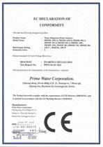 Certifikát LVD