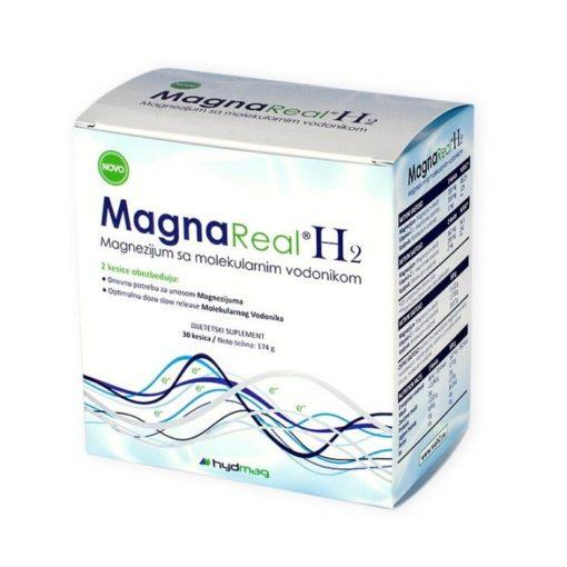 Magna Real H2 - molekulárny vodík s horčíkom a vitamínom C